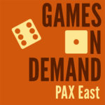 Games on Demand - PAX East Logo