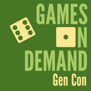 Gen Con Games on Demand Logo