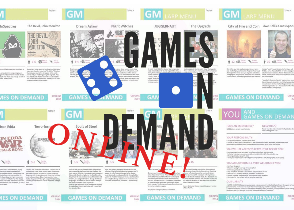 Games on Demand Online!